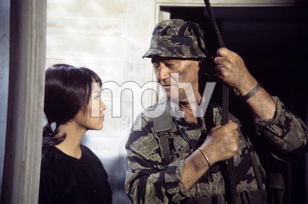 """The Green Berets""John Wayne, Irene Tsu 1967© 1978 David Sutton - Image 3469_0169"