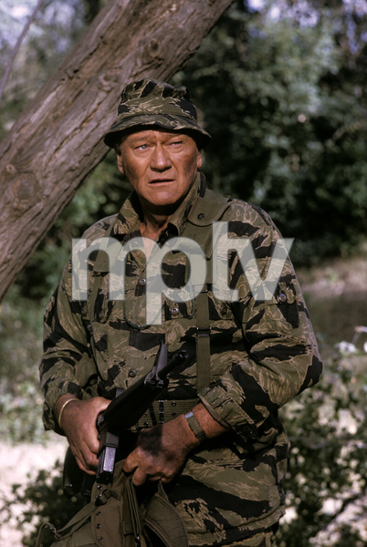"""The Green Berets""John Wayne1967 Warner Bros.© 1978 David Sutton - Image 3469_0198"