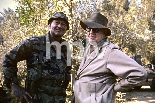 """The Green Berets""John Wayne, John Ford1968 Batjac Productions © 1978 David Sutton - Image 3469_0294"