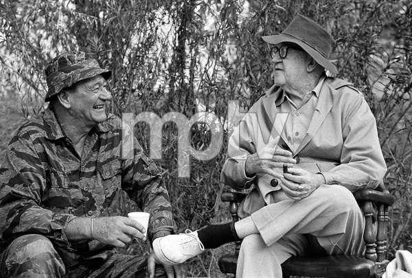 """The Green Berets""John Wayne, John Ford1968 Batjac Productions © 1978 David Sutton - Image 3469_0297"