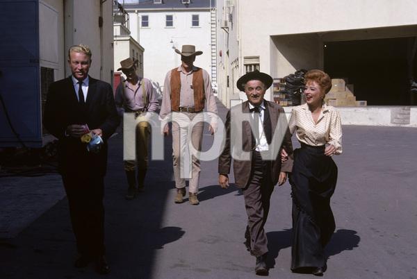 """Gunsmoke""Dennis Weaver, James Arness, Milburn Stone, Amanda Blake1961© 1978 Gene Trindl - Image 3470_0063"
