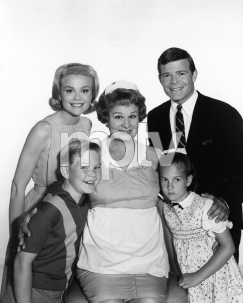 """Hazel""Lynn Borden, Bobby Buntrock, Shirley Booth1965Photo by Gabi Rona - Image 3479_0008"