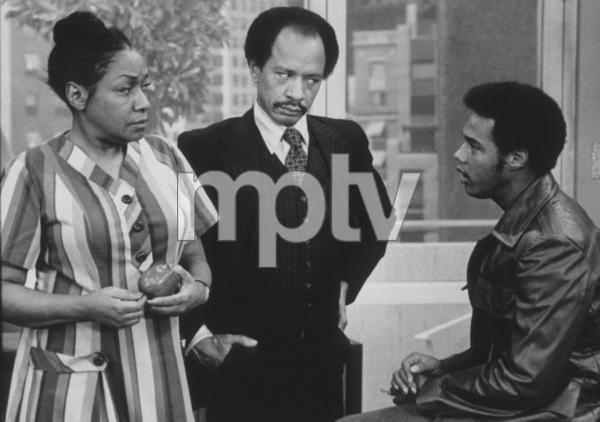 """Jeffersons, The""Isabel Sanford, Sherman Hemsley, Mike Evans1978 CBSPhoto by Gabi Rona - Image 3513_0001"
