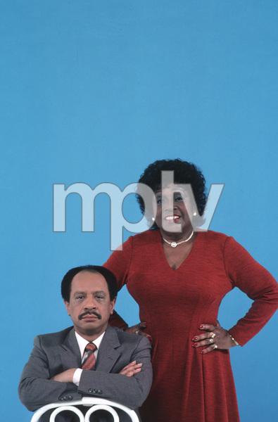 """The Jeffersons""Sherman Hemsley, Isabel Sanford1983 CBS © 1983 Gene Trindl - Image 3513_0008"