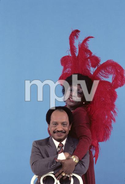 """""""The Jeffersons""""Sherman Hemsley, Isabel Sanford1983 © 1983 Gene Trindl - Image 3513_0012"""