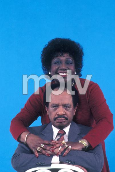 """""""The Jeffersons""""Sherman Hemsley, Isabel Sanford1983 © 1983 Gene Trindl - Image 3513_0013"""