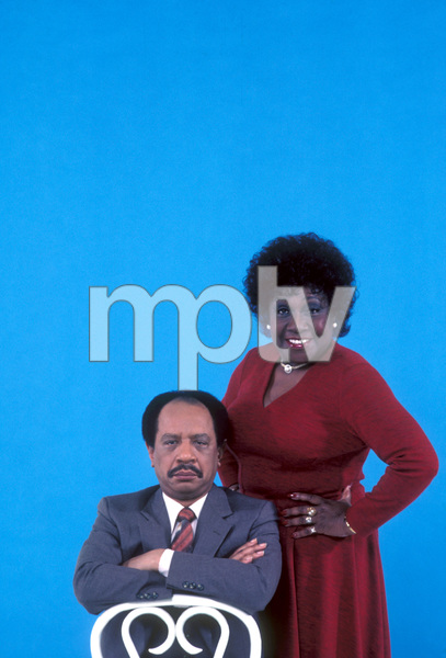 """The Jeffersons""Sherman Hemsley, Isabel Sanford1983 © 1983 Gene Trindl - Image 3513_0014"