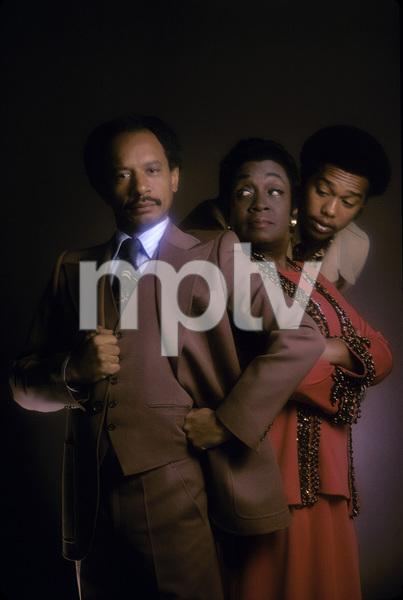 """The Jeffersons"" Mike Evans, Isabel Sanford, Sherman Hemsley 1975 © 1978 Mario Casilli - Image 3513_0027"