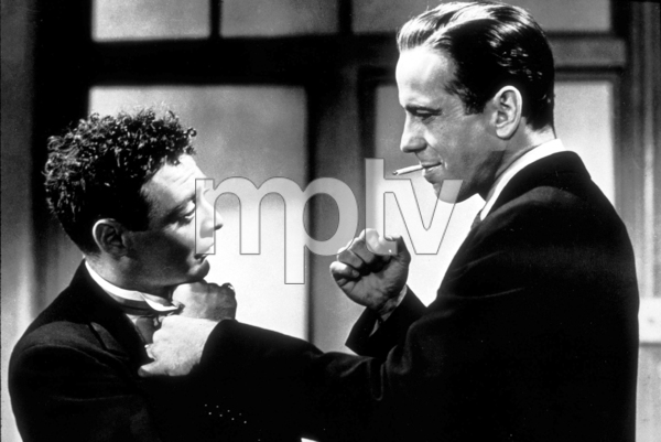 """The Maltese Falcon""Peter Lorre and Humphrey Bogart1941 Warner Bros.MPTV - Image 3570_0009"