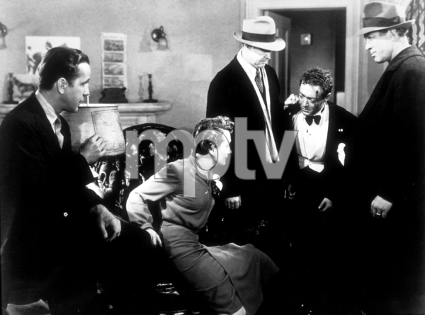 """The Maltese Falcon""Humphrey Bogart, Mary Astor, and Peter Lorre1941 Warner Bros.MPTV - Image 3570_0011"