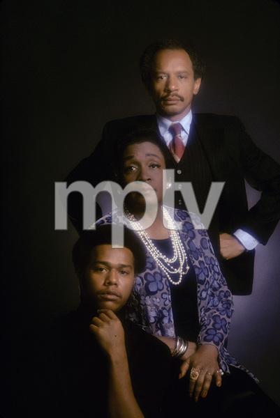 """The Jeffersons"" Mike Evans, Isabel Sanford, Sherman Hemsley 1975 © 1978 Mario Casilli - Image 3573_0026"