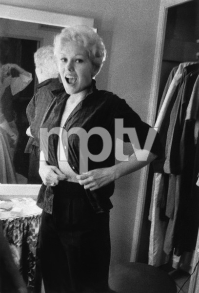 """""""The Man with the Golden Arm""""Kim Novak in her dressing room1955 © 1978 Bob Willoughby - Image 3575_0076"""