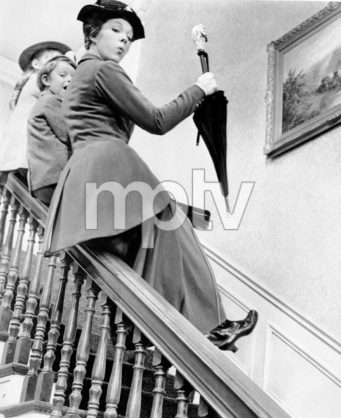 Julie Andrews, MARY POPPINS, Disney, 1964, I.V. - Image 3581_0030