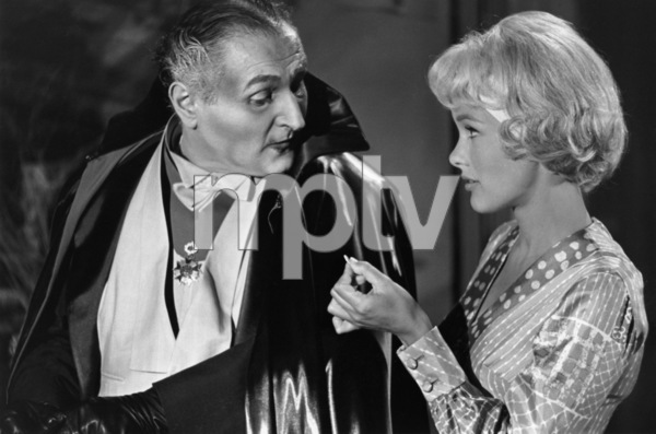"""""""The Munsters""""Al Lewis, Beverley Owen1964© 1978 Bob Willoughby - Image 3600_0136"""