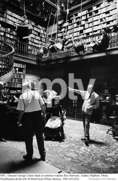 """My Fair Lady""Dir. George Cukor, Rex Harrison, Audrey Hepburn, Mona Washbourne, Wilfred Hyde-White1963 / Warner Brothers © 1978 Bob Willoughby - Image 3604_0613"