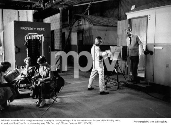 """My Fair Lady""Rex Harrison, Rudi Friml Jr.1963 / Warner Brothers © 1978 Bob Willoughby - Image 3604_0621"