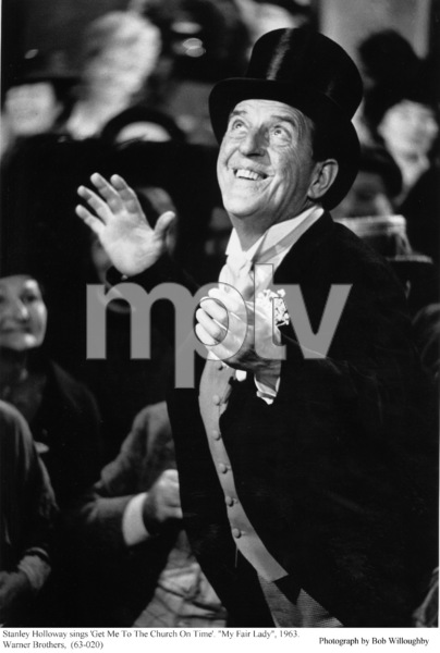 """""""My Fair Lady""""Stanley Holloway1963 / Warner Brothers © 1978 Bob Willoughby - Image 3604_0622"""