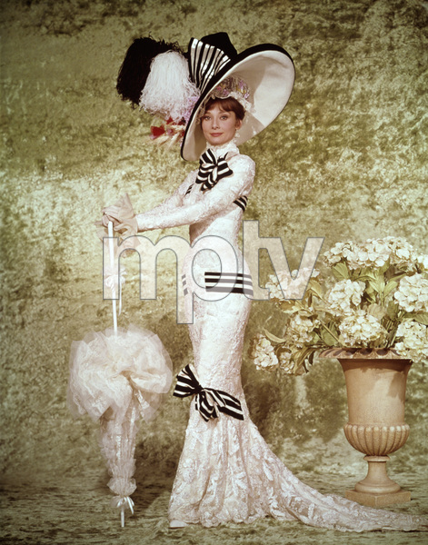 """My Fair Lady""Audrey Hepburn1964 Warner - Image 3604_0701"