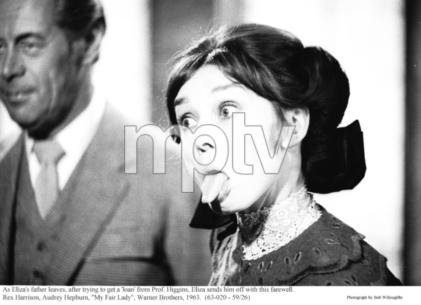 """My Fair Lady""Rex Harrison, Audrey Hepburn1963 / Warner Brothers © 1978 Bob Willoughby - Image 3604_0899"
