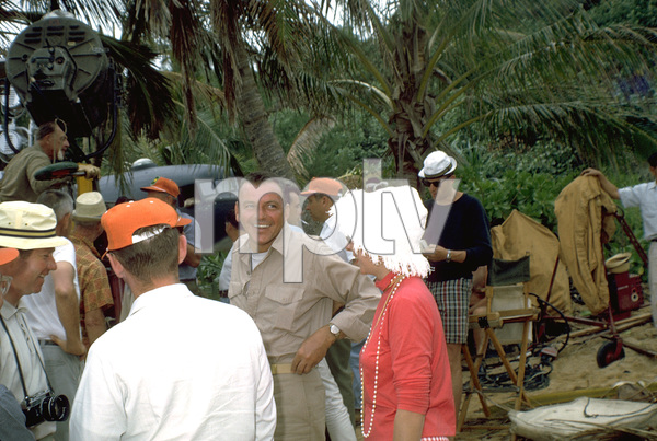 """None But The Brave""Frank Sinatra on location. © 1965 WarnerPhoto by Ted Allan - Image 3619_0001"