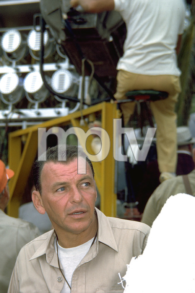 """""""None But The Brave""""Frank Sinatra on location. © 1965 WarnerPhoto by Ted Allan - Image 3619_0005"""