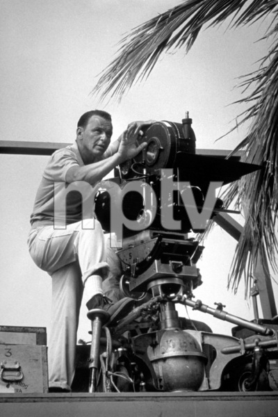 """""""None But The Brave""""Frank Sinatra directing on location.1964 / © 1978 David Sutton - Image 3619_0104"""