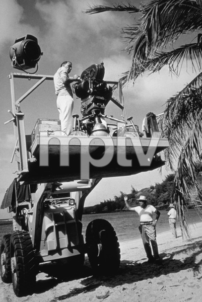 """""""None But The Brave""""Frank Sinatra directing on location.1964 Warner / © 1978 David Sutton - Image 3619_0115"""