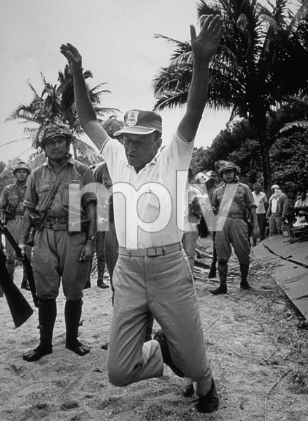 """""""None But The Brave""""Frank Sinatra directing on the set.1964 Warner/ © 1978 David Sutton - Image 3619_0120"""