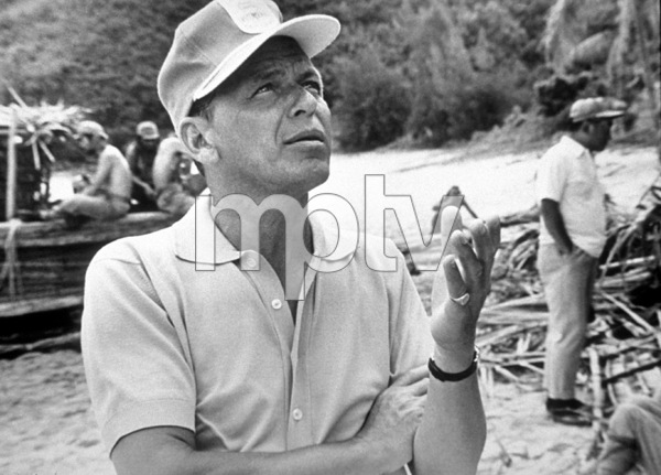 """None But The Brave""Frank Sinatra on location.1965 / © 1978 Ted Allan - Image 3619_0135"