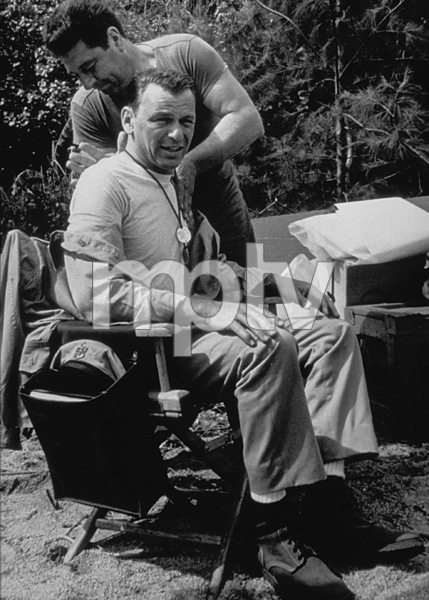 """None But The Brave""Frank Sinatra on location.1964 Warner/ © 1978 David Sutton - Image 3619_0141"