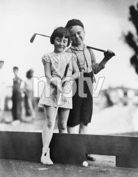 """""""Our Gang""""Mary Ann Jackson, Jackie Coopercirca 1931** R.C. - Image 3636_0061"""