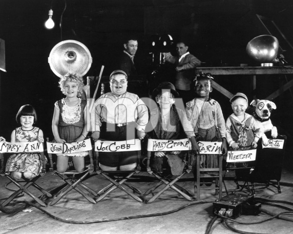"""Our Gang""Mary Ann, Jean Darling, Joe Cobb, HarrySpear, Farine, Wheezer, Pete the Dogc. 1935Hal Roach Productions**R.C. - Image 3636_0071"