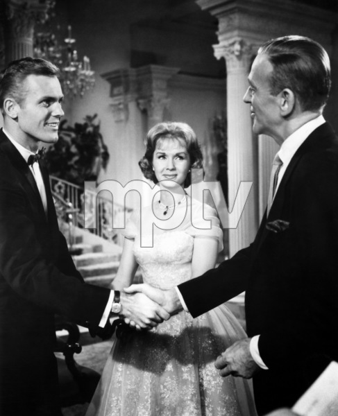 """""""The Pleasure of His Company""""Tab Hunter, Debbie Reynolds, Fred Astaire1961 Paramount Pictures - Image 3658_0031"""