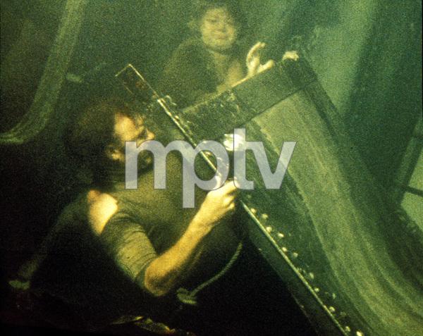 """The Poseidon Adventure""Shelley Winters, Gene Hackman © 1972 20th Century FoxPhoto by Bud Gray - Image 3662_0002"