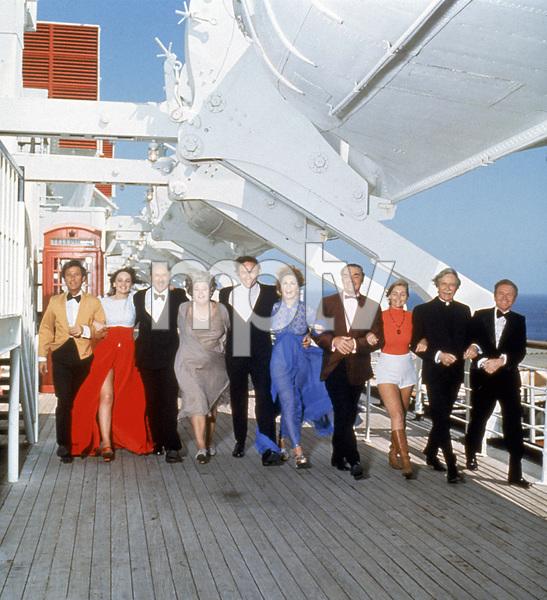 """The Poseidon Adventure""Roddy McDowall, Pamela Sue Martin, Jack Albertson, Shelley Winters, Gene Hackman, Stella Stevens, Ernest Borgnine, Carol Lynley, Arthur O"