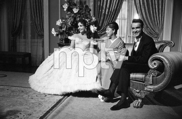 """Raintree County""Elizabeth Taylor, Machiko Kyo, Montgomery Clift1957© 1978 Sanford Roth / A.M.P.A.S. - Image 3678_0020"