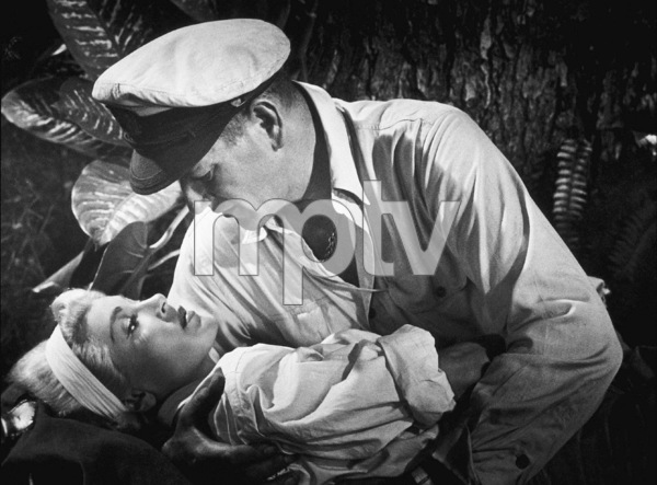 """The Sea Chase,"" Warner Bros. 1955.Lana Turner and John Wayne. - Image 3702_0004"
