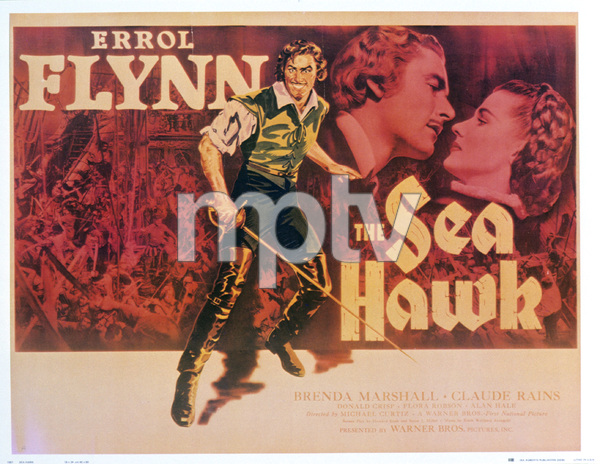 """""""The Sea Hawk"""" (Poster)1940 Warner Brothers - Image 3704_0004"""