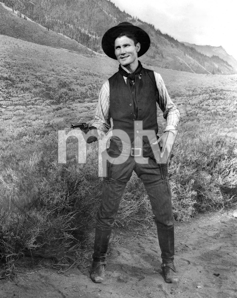 Jack Palance, SHANE, Paramount, 1953, I.V. - Image 3715_0037