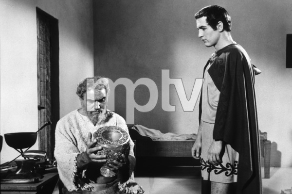 """3722-52 """"The Silver Chalice""""E.G. Marshall and Paul Newman1955 / MPTV - Image 3722_52"""