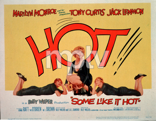 """Some Like It Hot""Lobby Card1958 UA / MPTV - Image 3733_0001"
