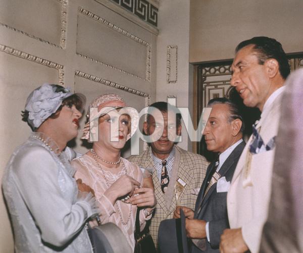 Tony Curtis, Jack Lemmon, George RaftFilm SetSome Like It Hot (1959)0053291**I.V. - Image 3733_0017