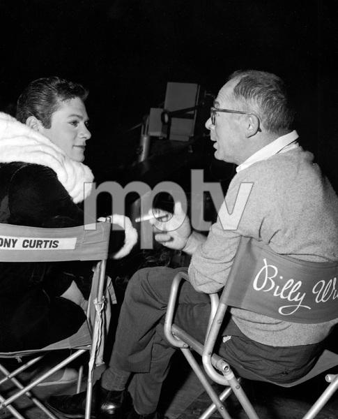 Tony Curtis, Billy Wilder, SOME LIKE IT HOT, UA, 1959, I.V. - Image 3733_0149