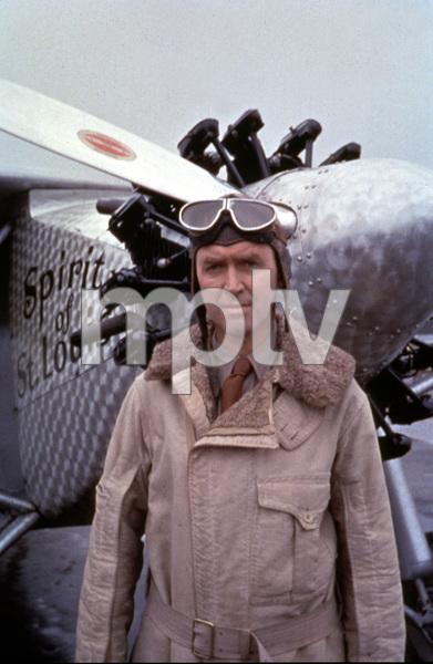 """The Spirit of St. Louis,"" James Stewart1957 Warner / MPTV © 1978 Ampas/Sanford Roth  - Image 3742_0010"