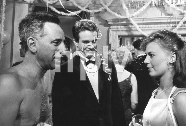 """Splendor In The Grass,""Director Elia Kazan, Warren Beatty,& Natalie Wood.1961/Warner Bros. - Image 3744_0012"