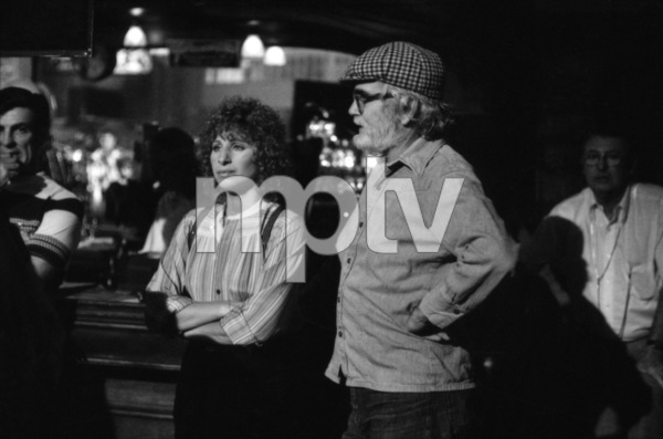 """Barbra Streisand and director Frank Pierson on the set of """"A Star Is Born""""1976 Warner Bros.** B.D.M. - Image 3746_0024"""