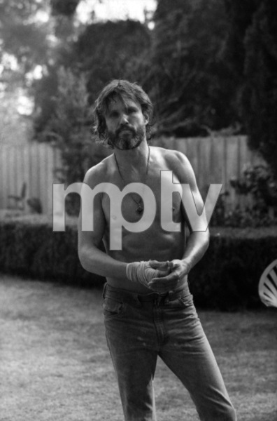 "Kris Kristofferson on the set of ""A Star Is Born""1976 Warner Bros.** B.D.M. - Image 3746_0042"