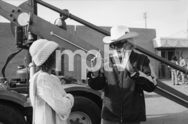 "Barbra Streisand and director Frank Pierson on the set of ""A Star Is Born""1976 Warner Bros.** B.D.M. - Image 3746_0043"
