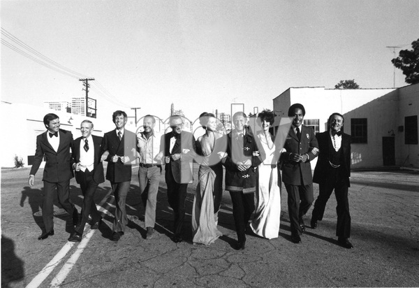 cast of  THE TOWERING INFERNO, TCF, 1974, I.V. - Image 3784_0111