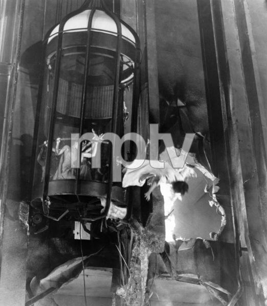 "Faye Dunaway and Jennifer Jones in ""The Towering Inferno""1974 20th Century-Fox** B.D.M. - Image 3784_0123"